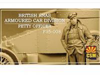 British RNAS Armoured Car Division Petty Officer (Vista 3)