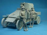 Belgian Armoured car officer (Vista 4)