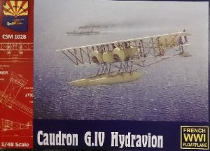 Caudron G.IV Hydroavion 1916  (Vista 1)