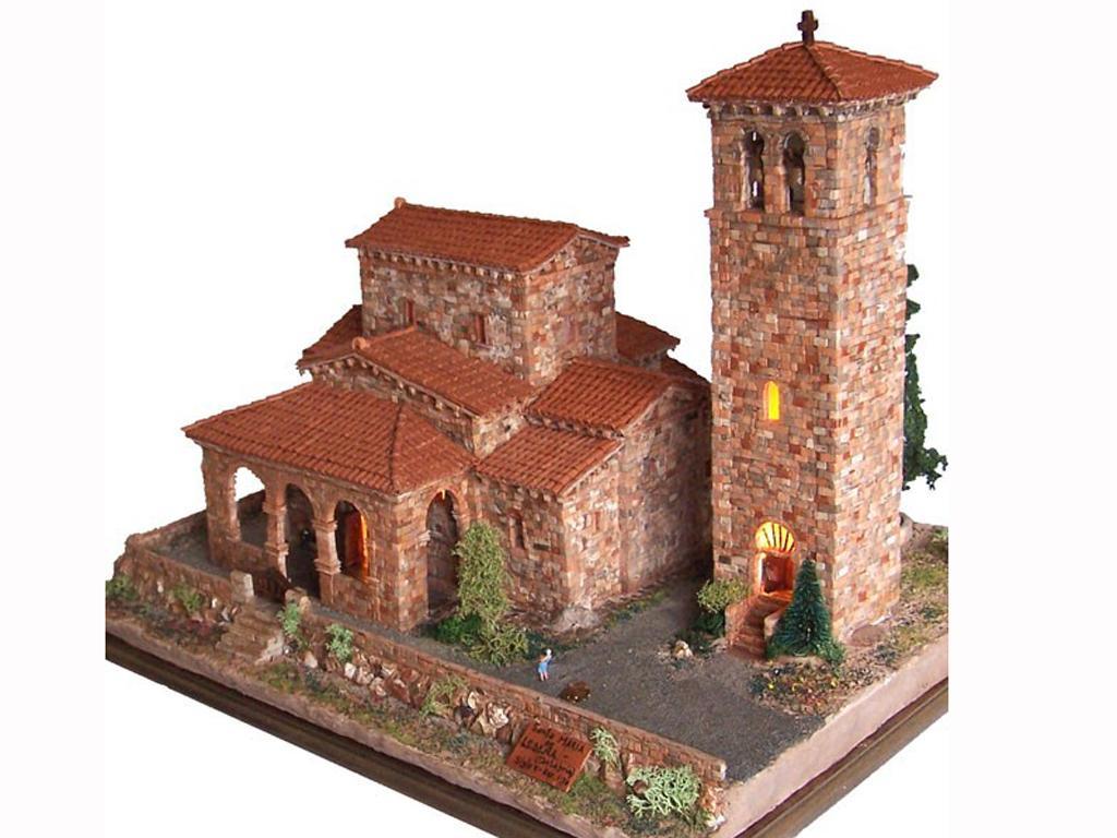 Iglesia Sta. Mª. De lebeña (Vista 1)