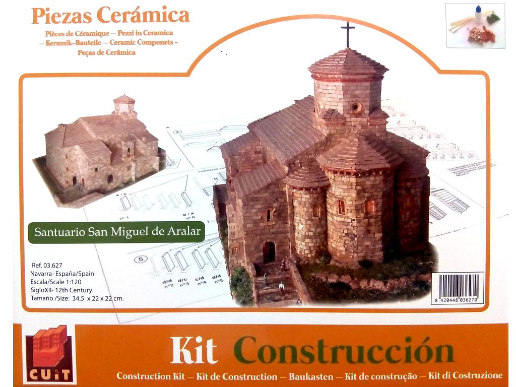 Iglesia de San Miguel de Aralar (Vista 1)
