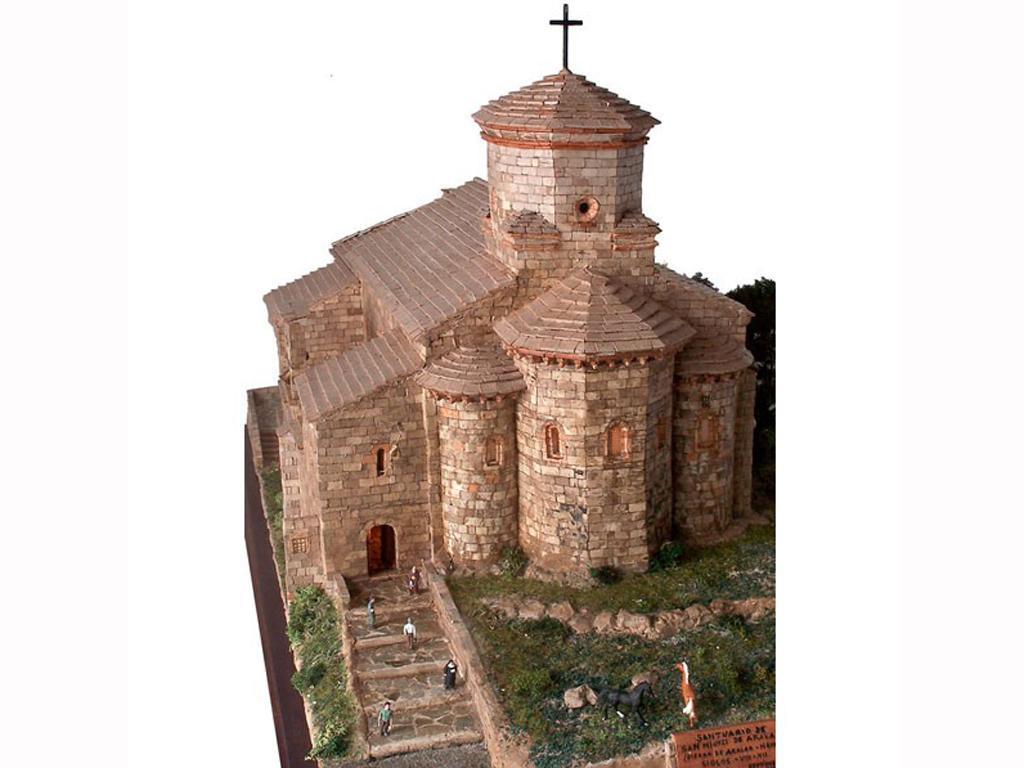 Iglesia de San Miguel de Aralar (Vista 2)