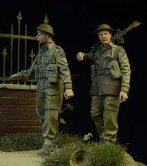 British/Commonwealth Infantry walking 19  (Vista 1)