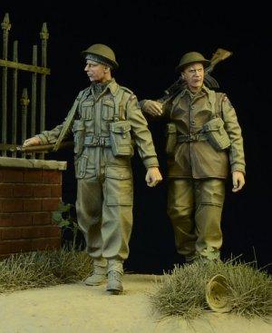 British/Commonwealth Infantry walking 19  (Vista 2)