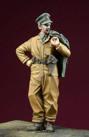 Tanquistas Britanicos Sargento  (Vista 1)