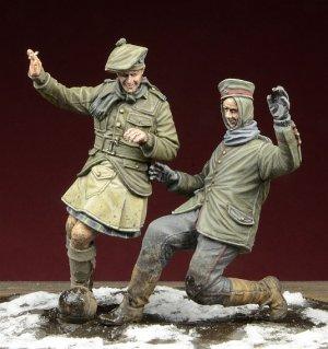 Football Christmas Truce 1914  (Vista 1)