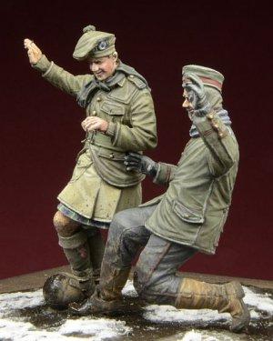 Football Christmas Truce 1914  (Vista 2)