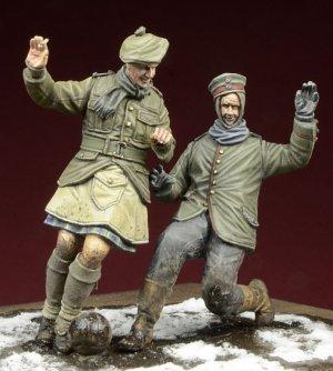 Football Christmas Truce 1914  (Vista 3)