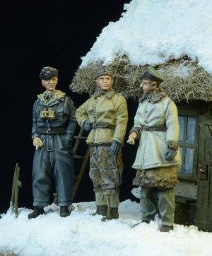 Waffen SS Officers Winter 1943-45  (Vista 2)