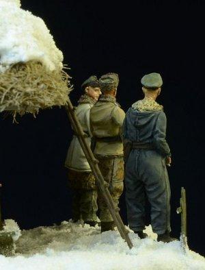 Waffen SS Officers Winter 1943-45  (Vista 4)