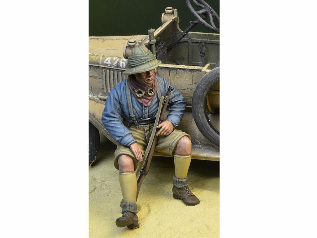 Soldado Anzac y Guerrero Árabe (Vista 3)