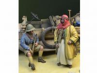 Soldado Anzac y Guerrero Árabe (Vista 4)