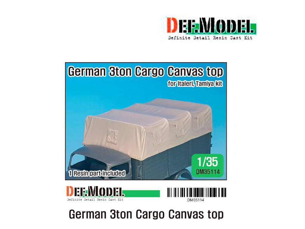 Techo de lona carga para camion Alemán de 3 toneladas (Vista 1)
