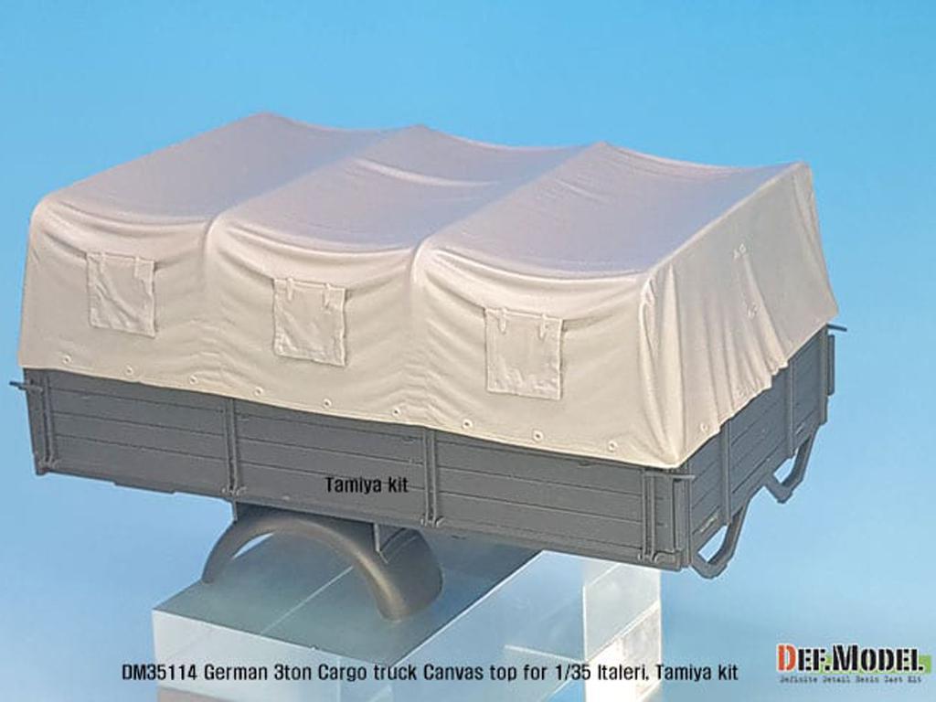 Techo de lona carga para camion Alemán de 3 toneladas (Vista 2)