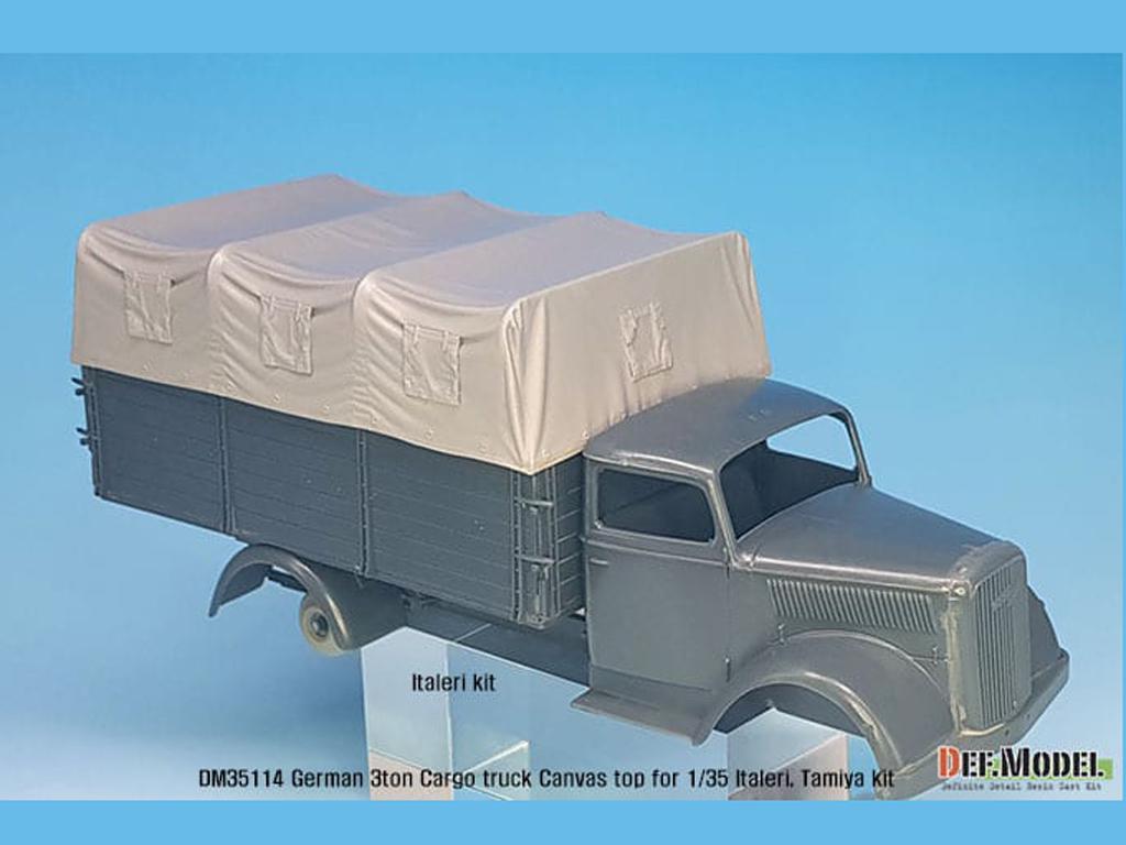 Techo de lona carga para camion Alemán de 3 toneladas (Vista 6)