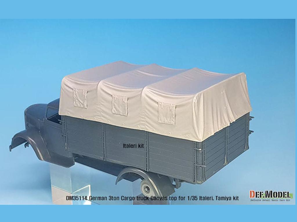 Techo de lona carga para camion Alemán de 3 toneladas (Vista 7)