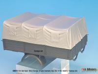 Techo de lona carga para camion Alemán de 3 toneladas (Vista 9)