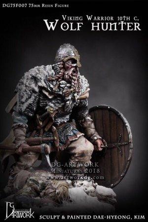 Guerrero Vikingo Wolf Hunter  (Vista 1)