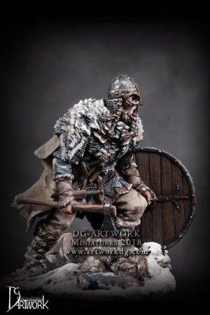 Guerrero Vikingo Wolf Hunter  (Vista 2)