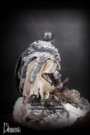 Guerrero Vikingo Wolf Hunter  (Vista 3)