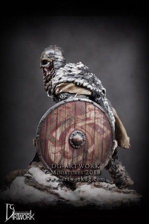 Guerrero Vikingo Wolf Hunter  (Vista 4)