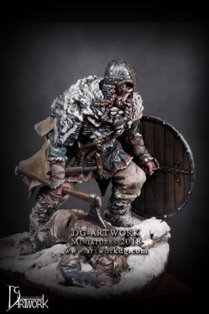 Guerrero Vikingo Wolf Hunter  (Vista 6)
