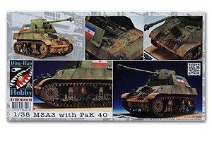 M3A3 with Pak40 Yugoslavia  (Vista 1)