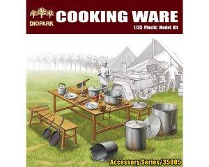 Utensilios de cocina y vajilla de campo   (Vista 1)