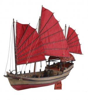 Junco Pirata Chino  (Vista 2)