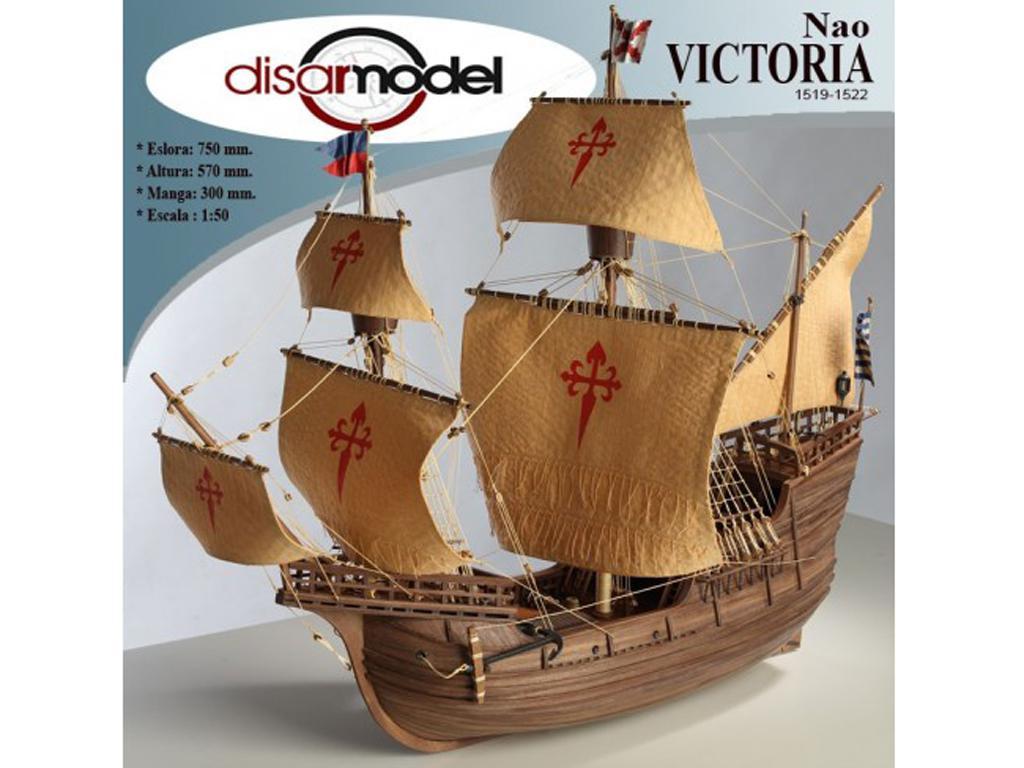 La Nao Victoria 1519-22 (Vista 1)