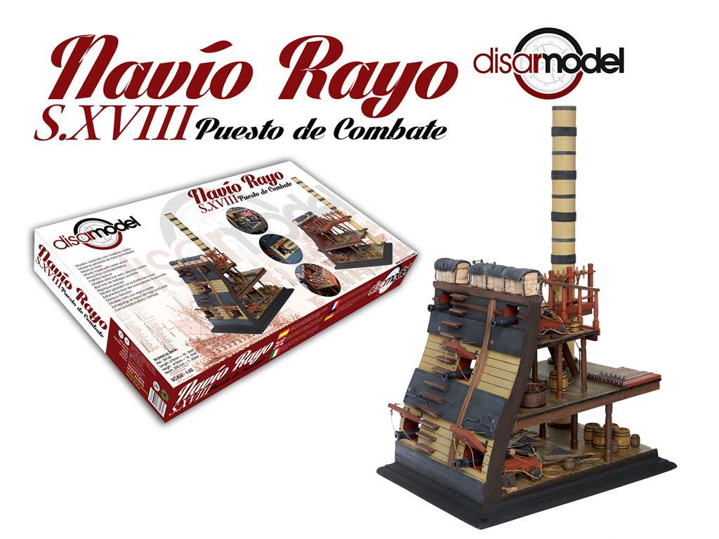 Puesto de combate Navio Rayo 1751 (Vista 1)