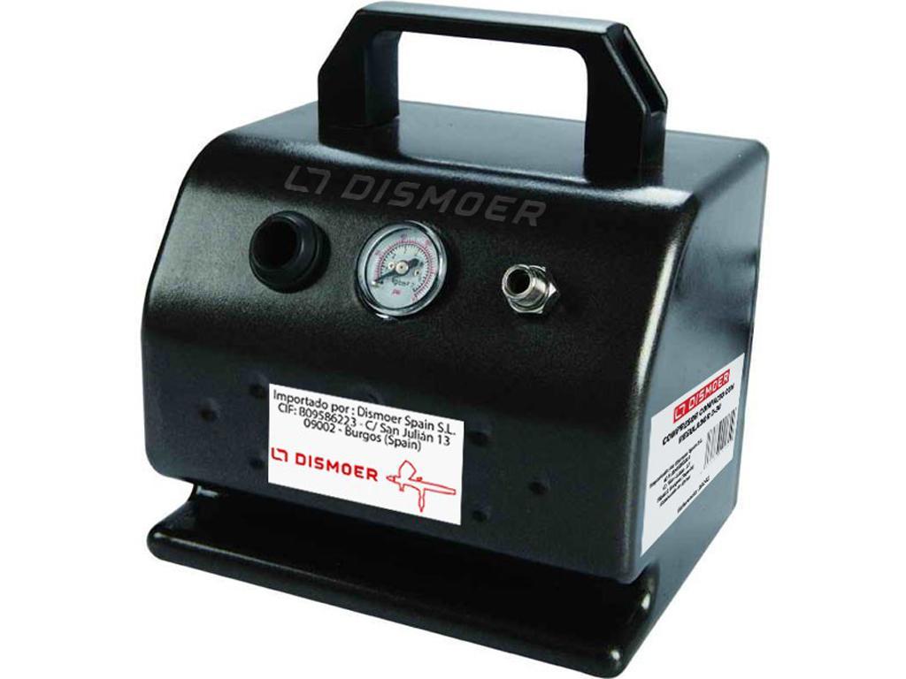 Compresor Compacto con Manómetro D-30 (Vista 1)