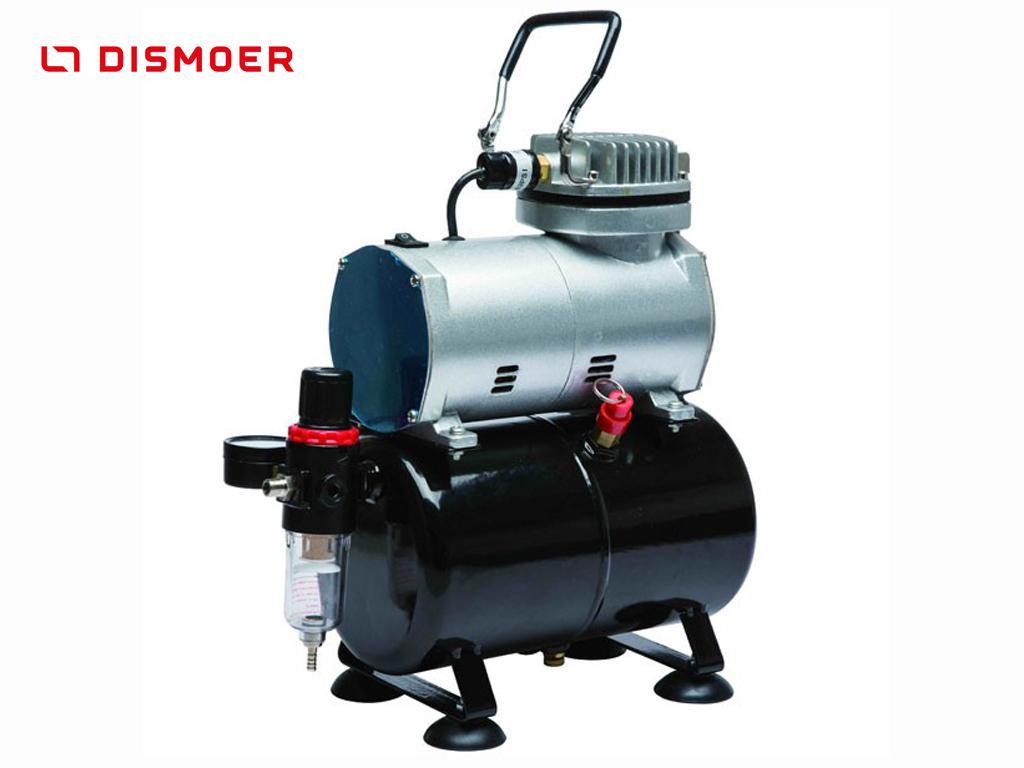 Compresor con Calderín y manómetro D-80 (Vista 1)
