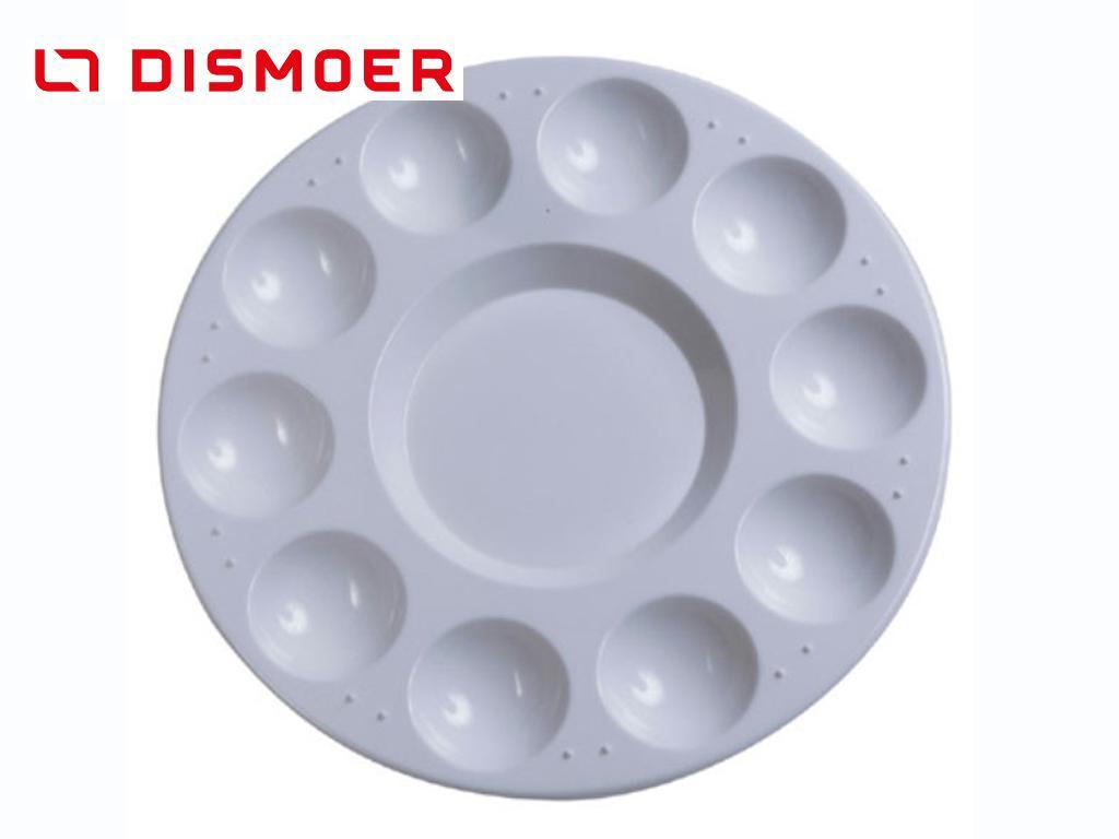 Paleta Circular de Plástico 17 cm (Vista 1)