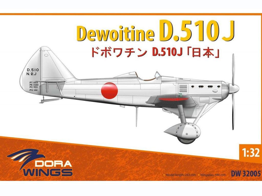 Dewoitine D.510J (Vista 1)