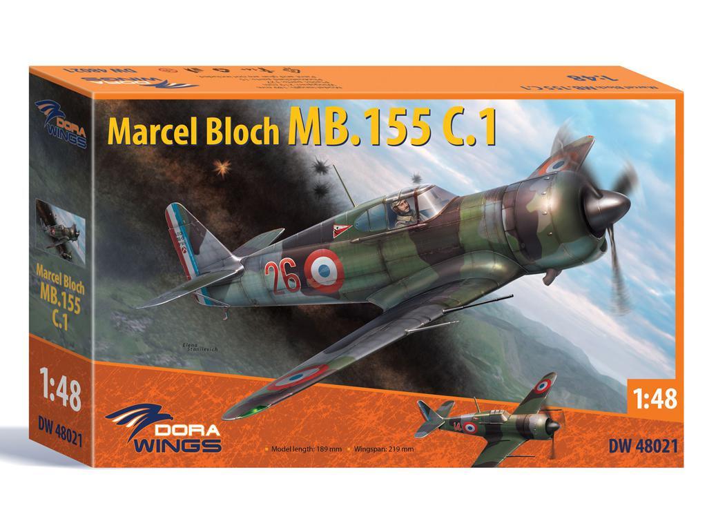 Marcel Bloch MB.155C.1 (Vista 1)