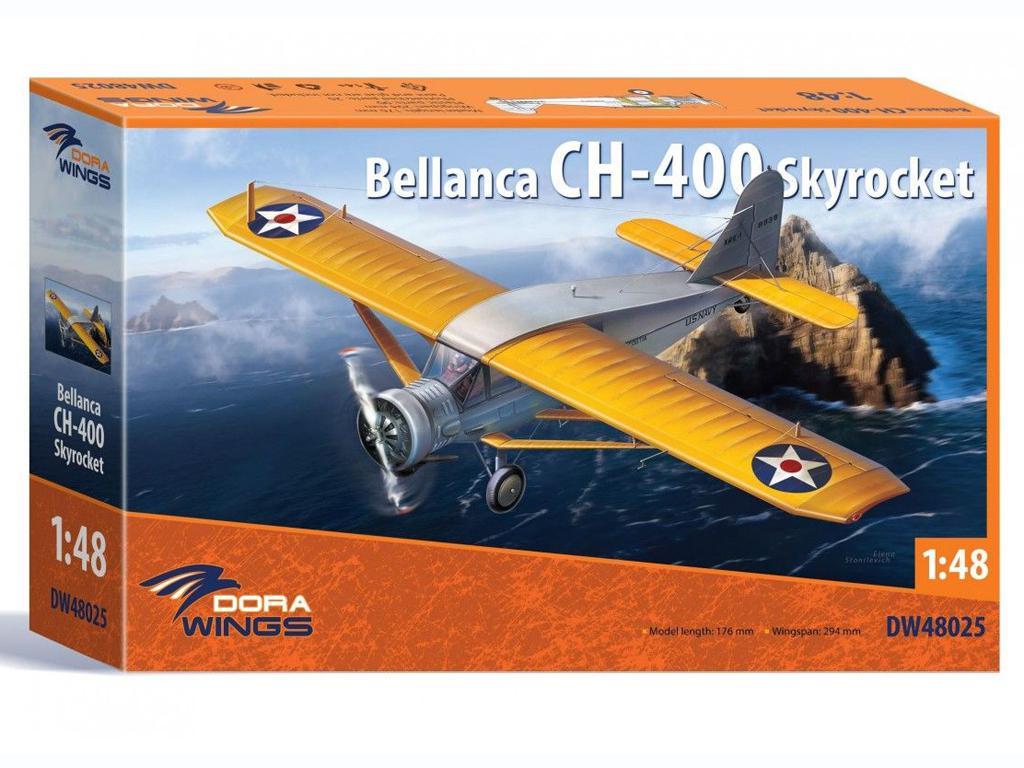 Bellanca CH-400 Skyrocket (Vista 1)