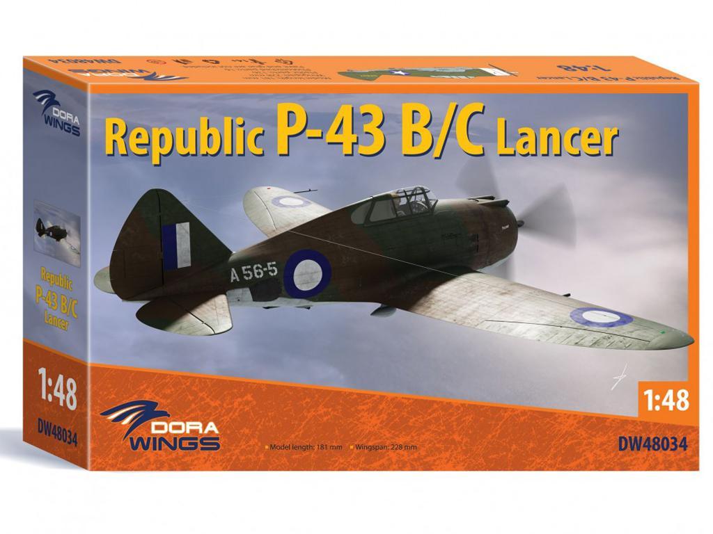 Republic P-43 Lancer (Vista 1)