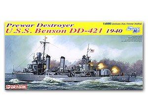 USS Benson class Destroyer Benson DD-421  (Vista 1)