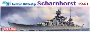 German Battleship Scharnhorst 1941  (Vista 1)
