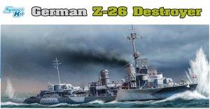 German Z-26 Destroyer  (Vista 1)