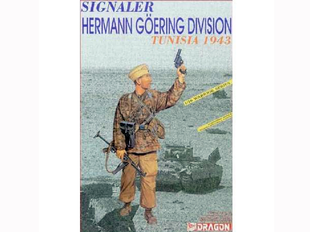 Signaler, Hermann Goring Division Tunisi  (Vista 1)