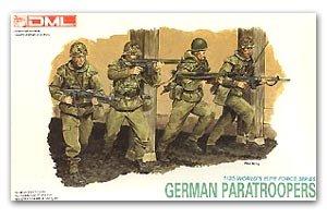 Paracaidistas modernos Alemanes  (Vista 1)