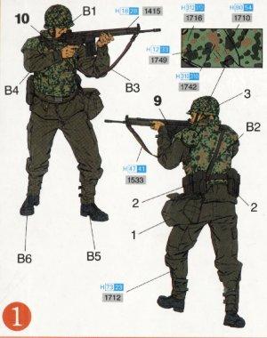 Paracaidistas modernos Alemanes  (Vista 2)