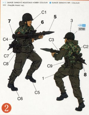 Paracaidistas modernos Alemanes  (Vista 3)