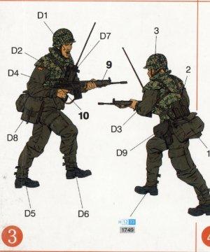 Paracaidistas modernos Alemanes  (Vista 4)