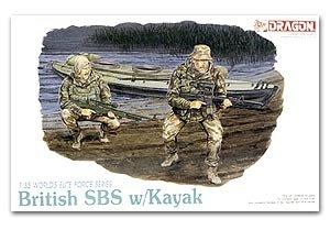 Comandos británicos SBS con Kayak  (Vista 1)