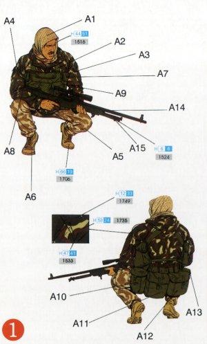 Comandos británicos SBS con Kayak  (Vista 2)