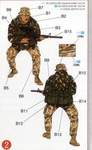 Comandos británicos SBS con Kayak  (Vista 3)