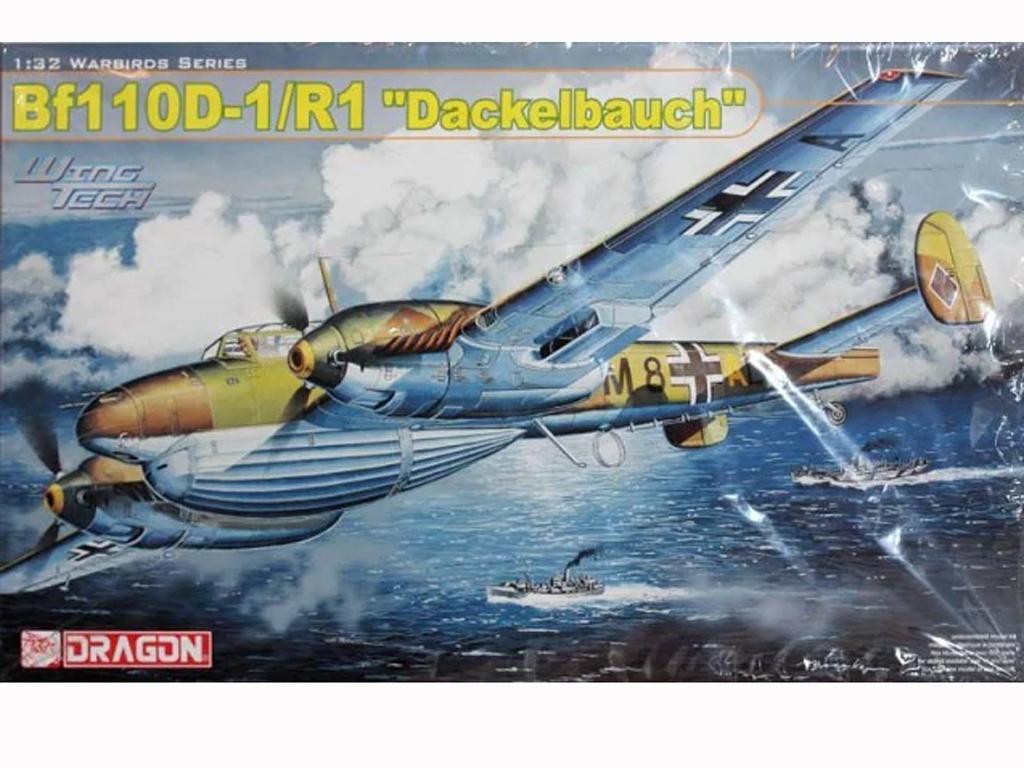 Bf110D-1/R1 Dackelbauch  (Vista 1)
